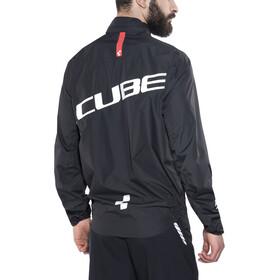 Cube Blackline Chaqueta para lluvia Hombre, black'n'white'n'red